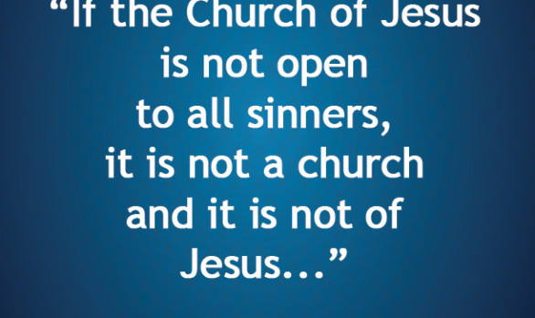 If the Church of Jesus is Not Open...