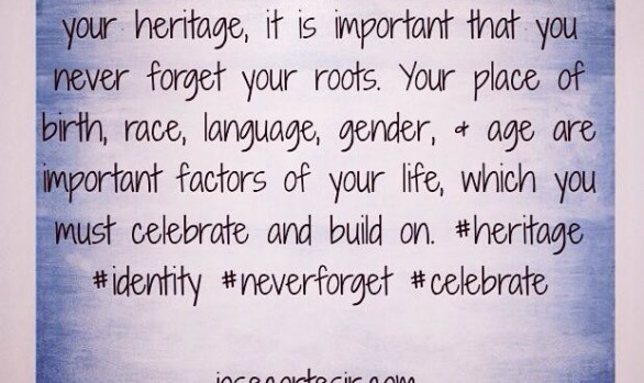 Identity not Defined by Your Heritage...