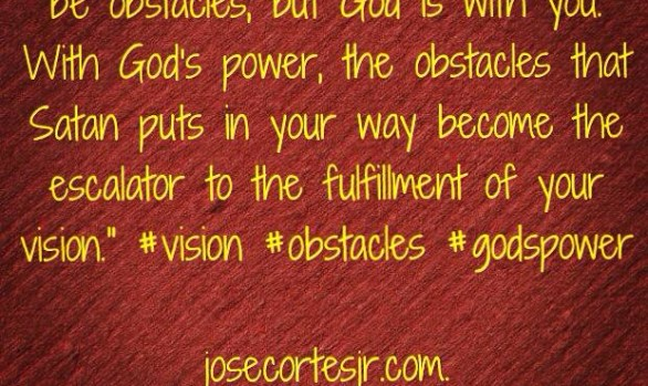 When You Have a Vision...