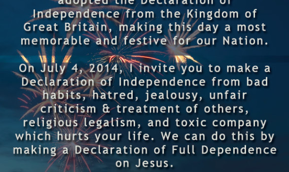 July 4th Message