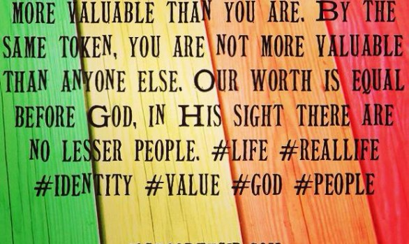 As You Find Your Identity in This World...
