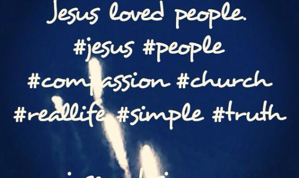 People loved Jesus because...