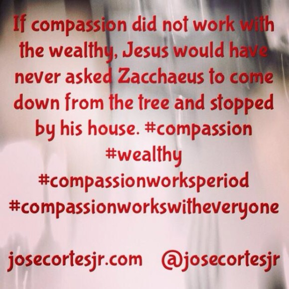 If compassion did not work...