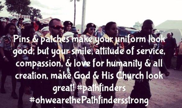 Pins & patches make your uniform...