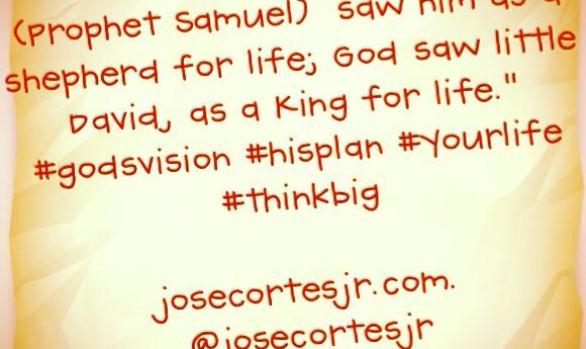 God saw Little David as a King